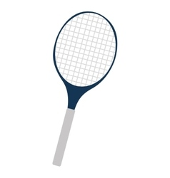 tennis racket equipment isolated vector image