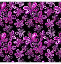 seamless fantasy background vector image vector image