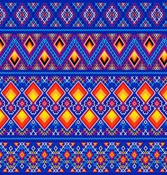 Decorative Greenland linen patterns vector image