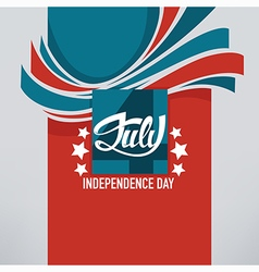 Independence banner vector