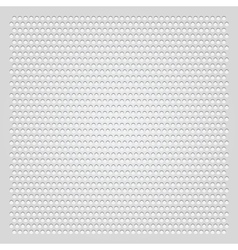 background gray perforated sheet vector image vector image