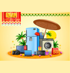 electronics sale for advertisement and promotion vector image