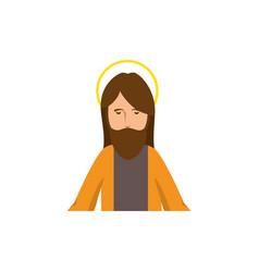 Cartoon jesus christ ico vector