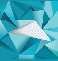 Abstract geometrical background polygonal design vector