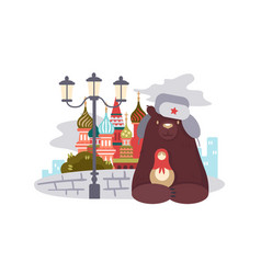 City moscow vector