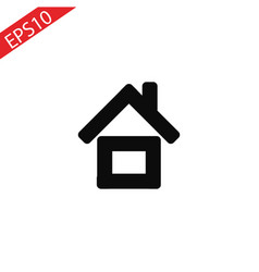 home icon simple flat symbol perfect vector image