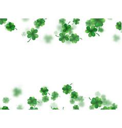 saint patricks day frame eps 10 vector image vector image