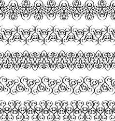 set of tattoo bands vector image