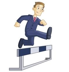 Steeplechase run vector