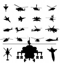 helicopter vector image vector image