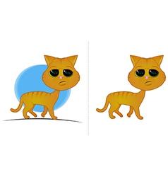 Orange Cat Cartoon vector image