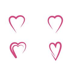 beauty love design vector image