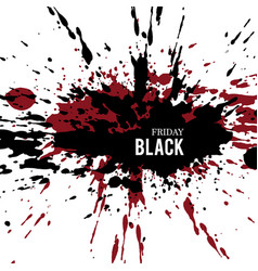 Black-friday-grunge vector