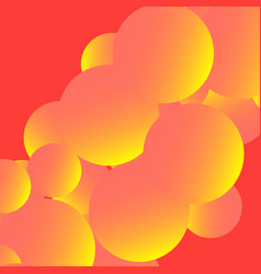 Graphic abstract image with geometric shapes vector