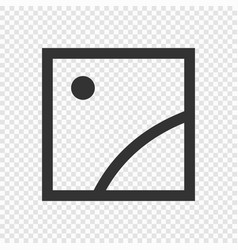 picture or photo icon vector image