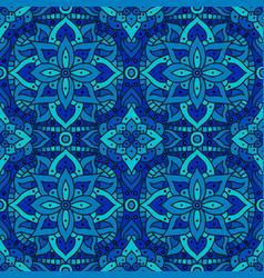 seamless pattern mandala boho indian seamless vector image