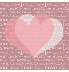 abstract st valentine vector image vector image