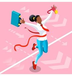 Ambitious business change 93 job ambitions concept vector