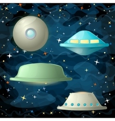 05 planets vector image
