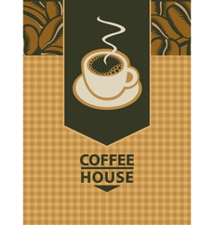 Coffee house vector image vector image