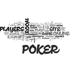 best online poker rooms reviewed free tips for vector image