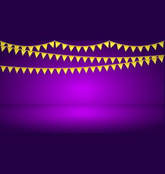 bright celebration background vector image