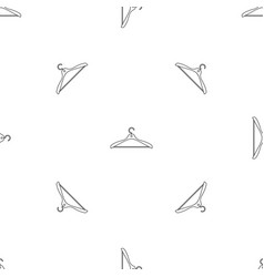 Clothes hanger icon outline style vector