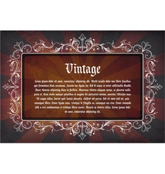 grunge label vector image vector image