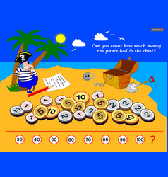 Logic puzzle game for children and adults can you vector