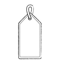blank tag icon image vector image