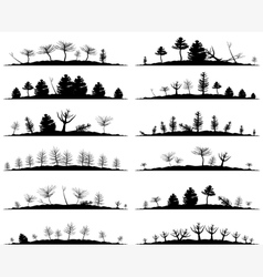 Landscape5 vector image vector image