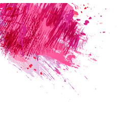 Brush-pink-background vector