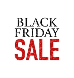 Stock Grunge Black Friday vector image