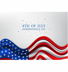 4th of july united stated independence day vector