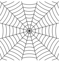 cobweb background black interwoven threads spider vector image