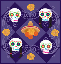 Day-of-the-Dead-5 vector image