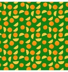 Fruits orange seamless patterns vector