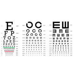 layered of three kinds of eye vector image