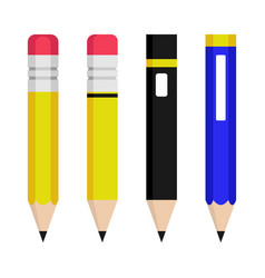 Pencil perfect for education or office design vector