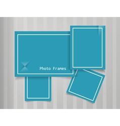 Photo Frames Design Background vector image