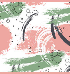 Style grunge abtract green pink background dirty vector