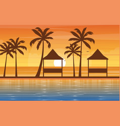 water outdoor swimming pool hotel nature relax vector image