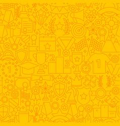 win award line tile pattern vector image