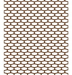 pattern metal grille vector image