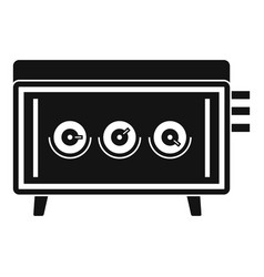 Cd changer icon simple style vector