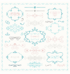 colorful hand drawn decorative doodle design vector image vector image