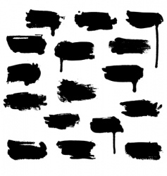 watercolour blots vector image