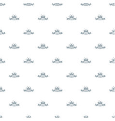 building bastion pattern seamless vector image