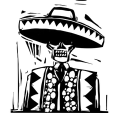 Day of the Dead 1 vector