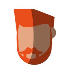 Faceless man avatar icon image vector